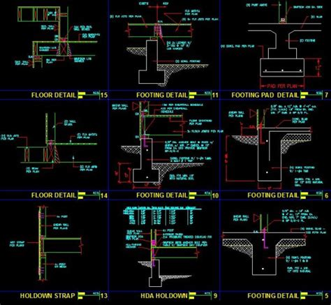 layout en español autocad construction details cad library autocad blocks