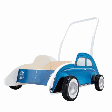 hape toys beetle walker blue