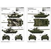 Russian T 90A MBT 05562 1/35 Series TRUMPETER(china)