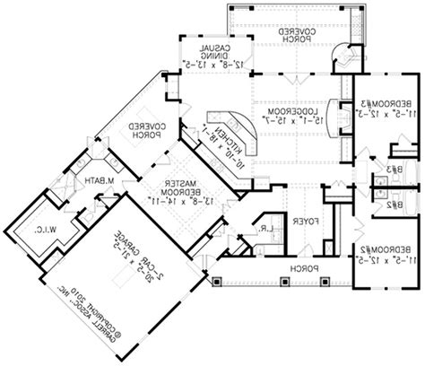 awesome one story house plans single story 4 bedroom open floor plans bedroom style
