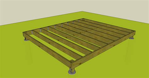 How To Make A Base For A Shed by Building A Shed Base With Wood Ksheda