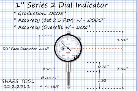 New Indicator 0 10001mm With Lug Back Measurement Micro shars 1 quot high precision indicator 0005 agd 2