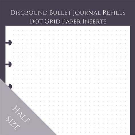 dot grid bullet journal bullet journal journal large daily empty format pretty boys planner books half size discbound arc junior bullet journal dot grid
