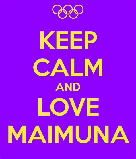 Maimuna Top keep calm and maimuna poster may keep calm o matic