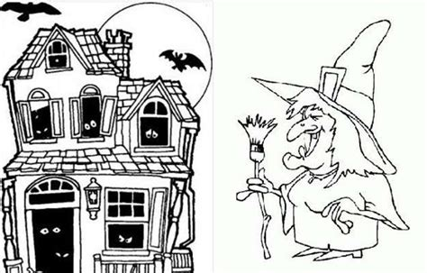 imagenes terrorificas animadas halloween dibujos para imprimir y colorear para ni 241 os