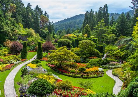 garden pictures flowers most beautiful flower gardens in canada butchart gardens