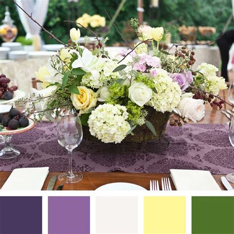 wedding color combinations for 2014