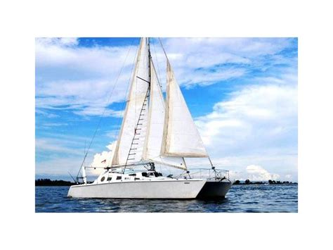 catamaran for sale indonesia cutter rigged catamaran in indonesia sailboats used