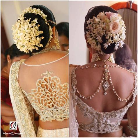 bridal hairstyles with gajra gajra styles for brides fashion in india threads