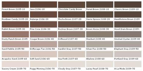 Wandfarbe Braun Beige by Farbtafel Wandfarbe W 228 Hlen Sie Die Richtigen Schattierungen