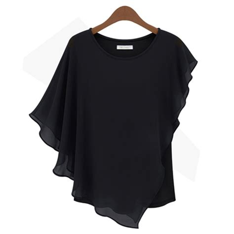 Batwing Shirt 2 fashion batwing solid casual sleeve womens t