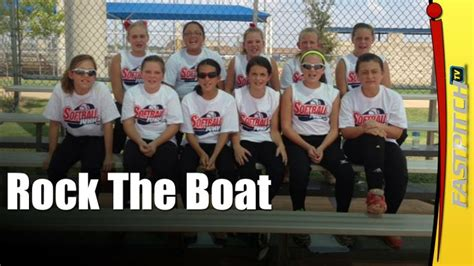 rock the boat don t tip the boat over song 21 best images about softball cheer show on pinterest