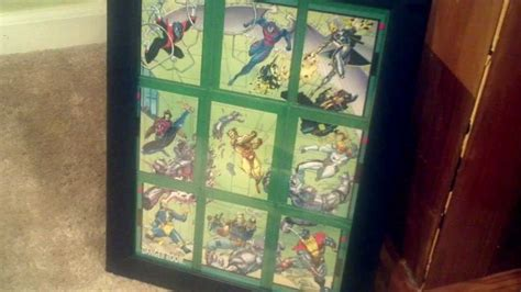 how to display photo frames how to frame your trading cards in a display