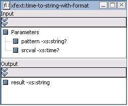 format date xquery building queries