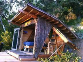 micro cabin at big sur 90 sq ft passive solar timber cabin