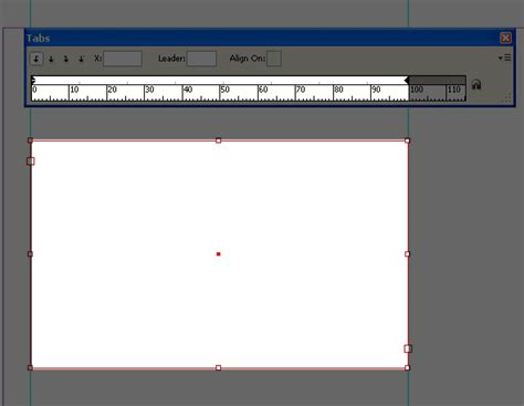 qt tabs tutorial quick tip indesign working with tabs