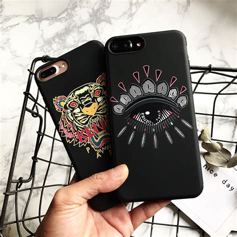 soft phone cover for apple iphone kenzo for apple iphone6 6s 7 7plus phone