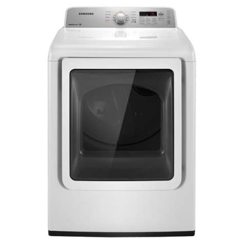 7 Best Dryers by Samsung Dv422ewhd 7 2 Cu Ft Electric Top Load Dryer With