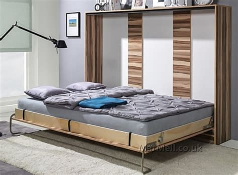 space saving double bed double horizontal wall bed space saving murphy bed
