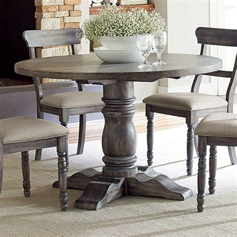 kitchen dining furniture best 25 rustic round dining table ideas on pinterest