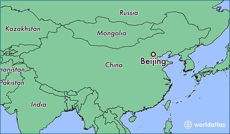 beijing on a world map where is beijing china beijing beijing map