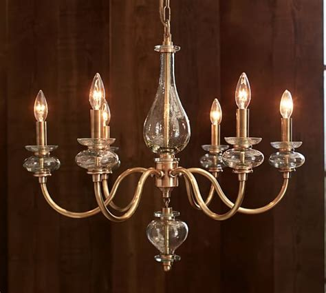 Pottery Barn Chandeliers Glass Chandelier Pottery Barn