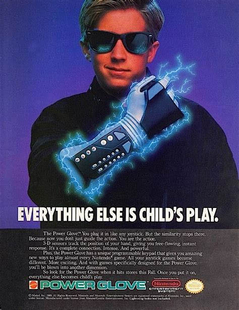 Home Design Make Your Own by Status Symbols Nintendo Power Glove The Verge