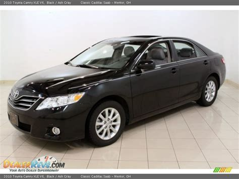 2010 Toyota Camry Xle 2010 Toyota Camry Xle V6 Black Ash Gray Photo 3