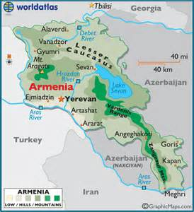 Armenia World Map by Pics Photos Armenia Physical Map Armenia Maps