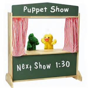 Curtains 95 Inches Showtime Puppet Stage