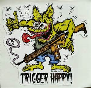 rat fink tattoo designs trigger happy quot rat fink style quot 4 quot x 4 quot die cut sticker