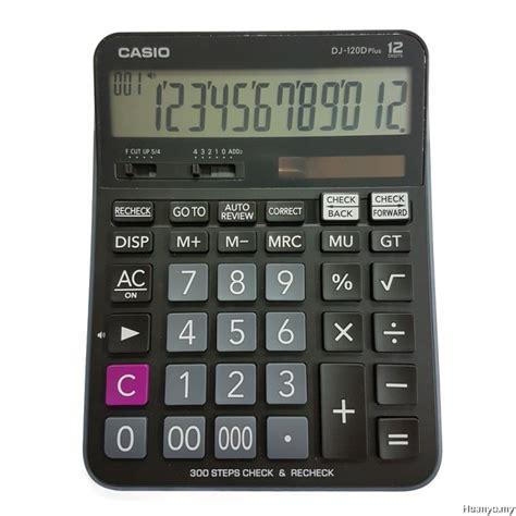 Casio Calculator Dj 120d Plus casio dj 120d plus check recheck calculator