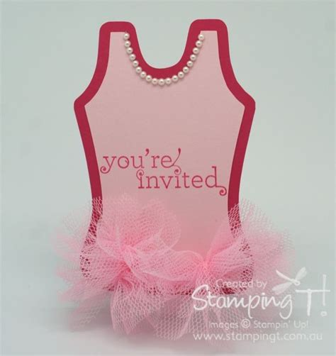 Pin The Tutu On The Ballerina Template by My Version Of The Ballerina Tutu Invitation Sting T