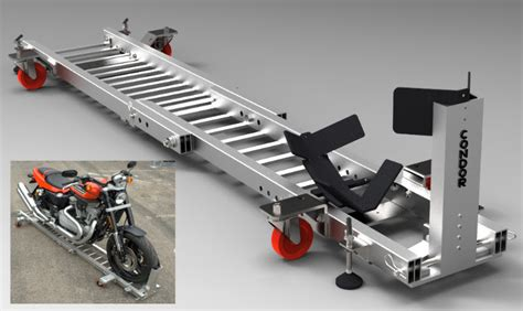 Garage Dolly by Condor Announces The Garage Dolly Motorcycle News