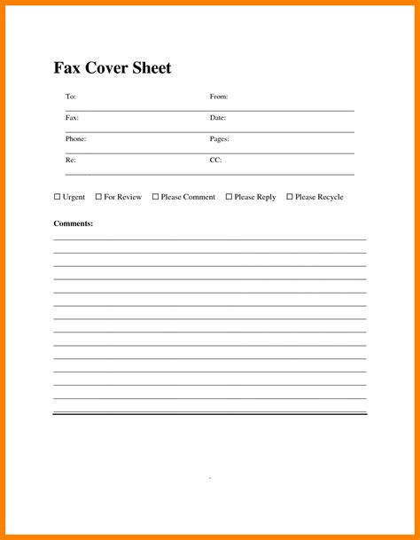 free cover sheet template 8 sle fax cover sheet resume sections