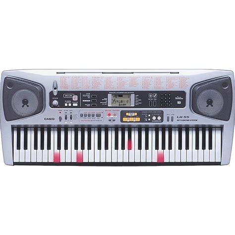 Casio Lighted Keyboard by Casio Lk 55 61 Key Lighted Key Portable Keyboard Musician S Friend