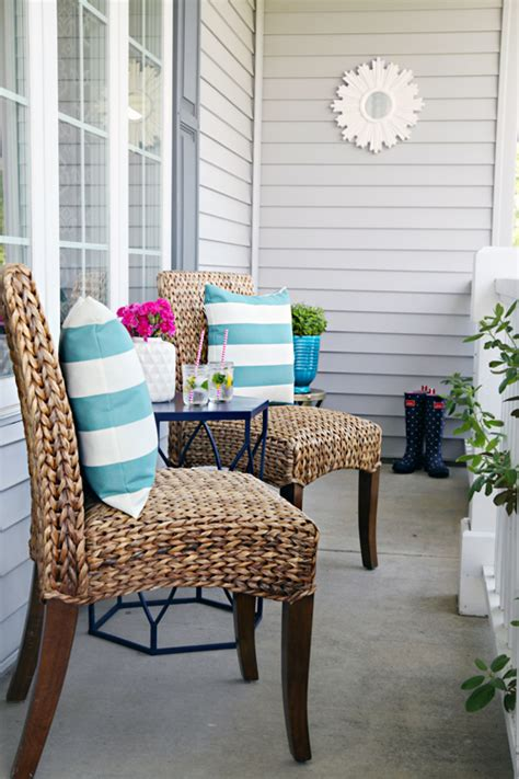 front porch furniture ideas iheart organizing a mini front porch refresh