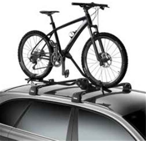 Thule Roof Rack Bike by Thule Proride Roof Bike Rack Frame Mount Cl On Or