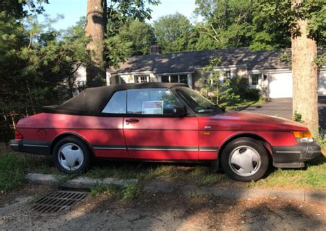 automotive air conditioning repair 1992 saab 900 transmission control saab 900 1992 turbo convertible 212k red runs great ac auto no rust