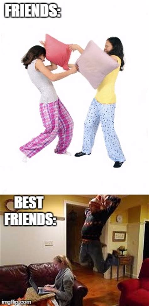 Pillow Fight Meme - how to tell pillow fights apart imgflip