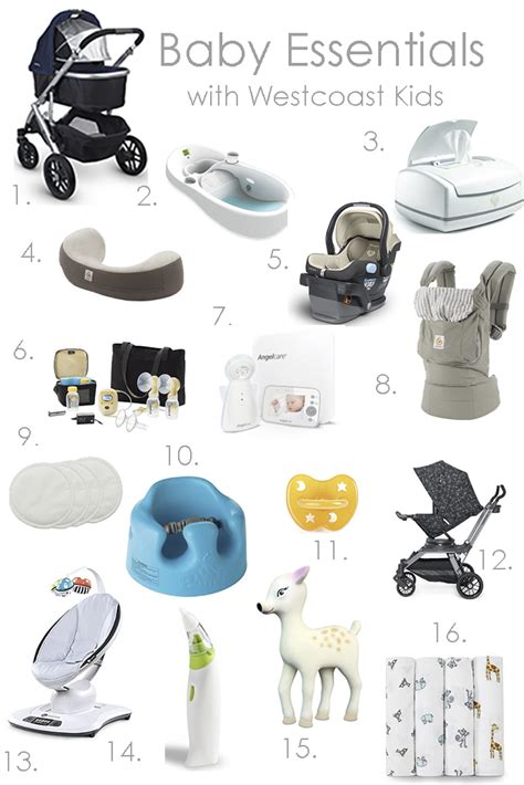 Essentials For Baby Shower by Baby Essentials