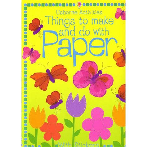 Things To Make And Do With Paper - things to make and do with paper papel3d