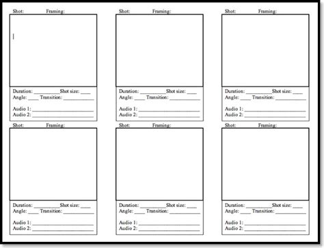 25 best ideas about storyboard template on pinterest