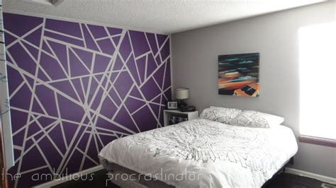 wall paint design ideas with tape painter s tape wall design diamond vogel