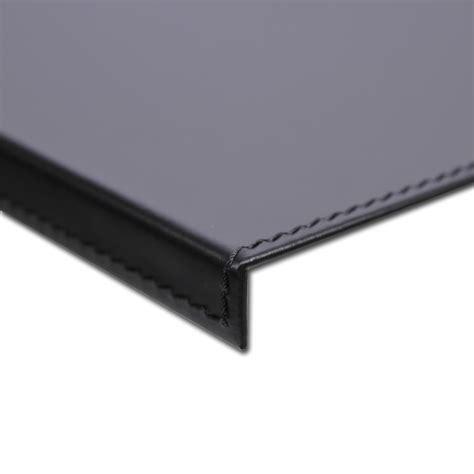 sottomano scrivania sottomano scrivania ufficio cuoio grigio tortora 70x50