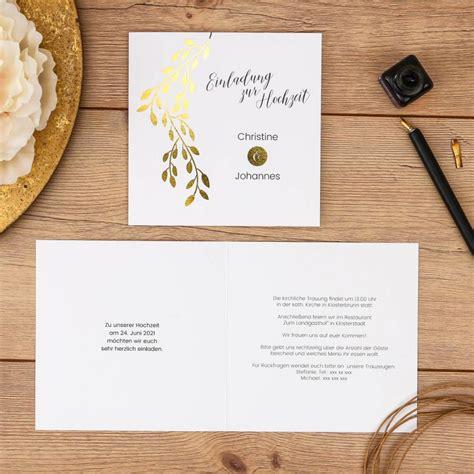 Hochzeitseinladung Zeitplan by Linadara Einladung Klappkarte Quadratisch