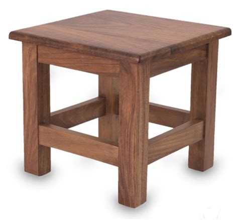 Wooden End Tables Unique Contemporary Parota Wood End Table San Pedrito Mission Novica