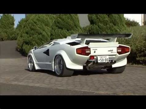 Lamborghini Countach Modified by Custom Lamborghini Countach Youtube