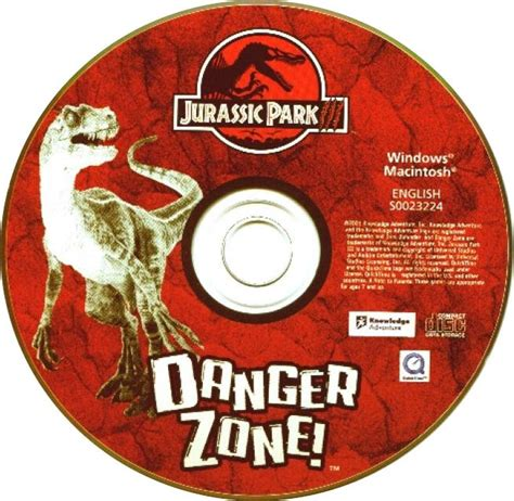 Cd Juta Jutassic Park Iii Satir jurassic park 3 danger zone cd obal abcgames cz