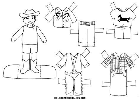 imagenes navideñas para pintar y recortar chico granjero para recortar y colorear